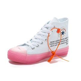 Ericdress Round Toe Candy Color Lace-Up Women's Sneakers