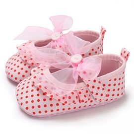 Ericdress Polka Dot Velcro Toddler Shoes