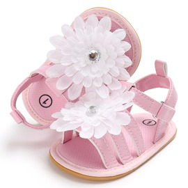 Ericdress 3D Floral Velcro Toddler Shoes