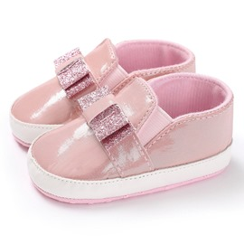 Ericdress Bowknot Elastic Band Toddler Shoes
