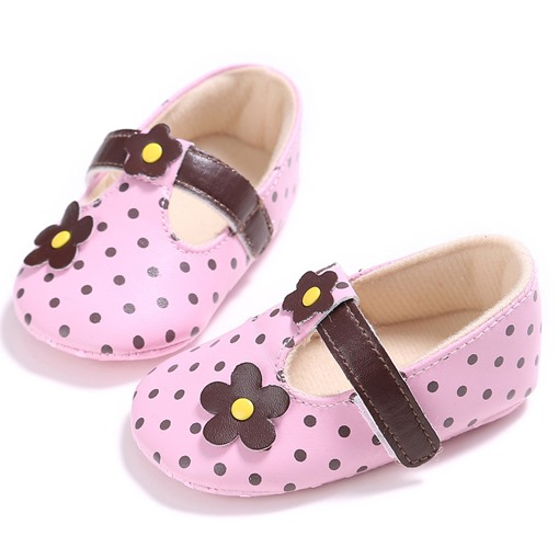 Ericdress Velcro Floral Toddler Shoes