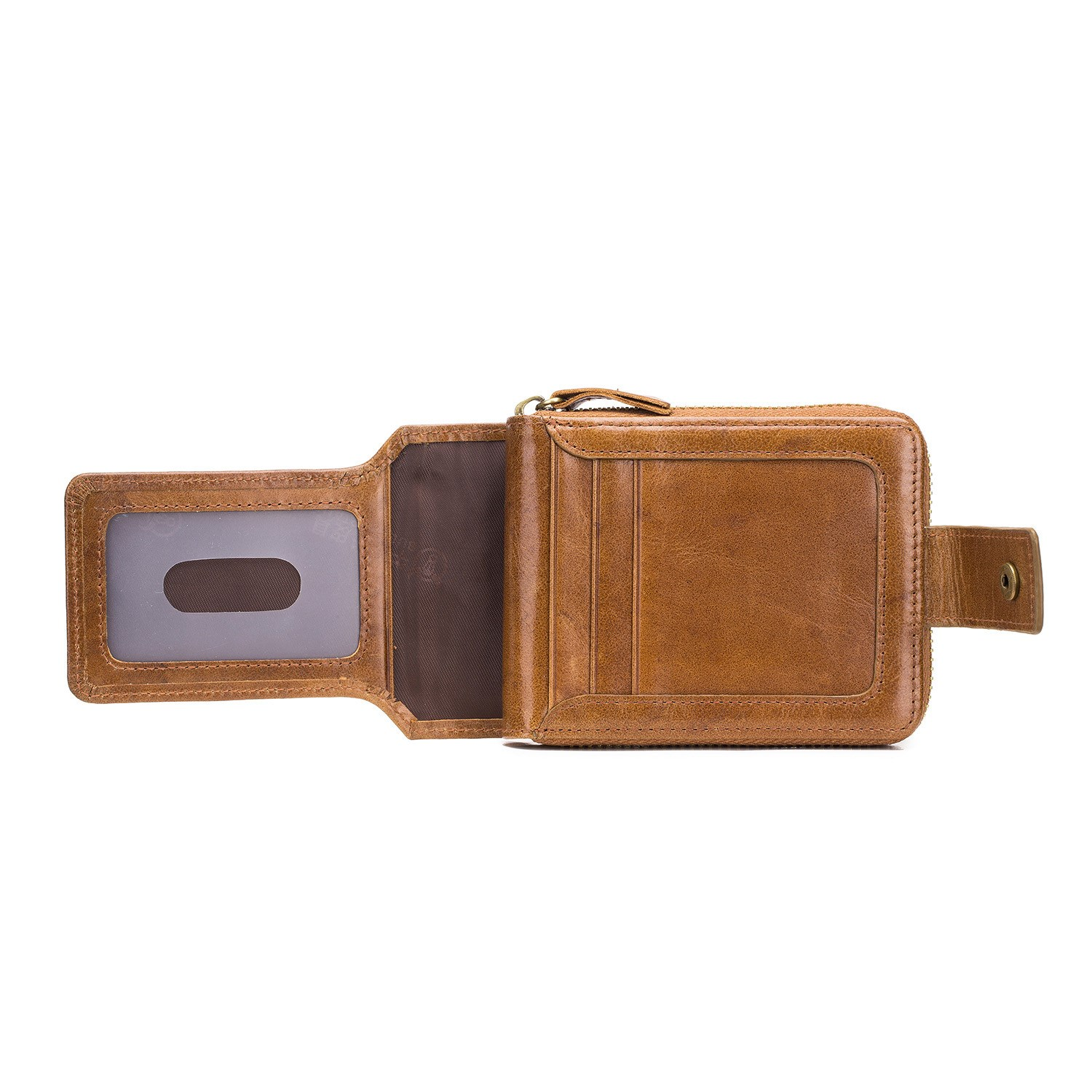 Ericdress Unisex Leather Standard Wallet Wallets