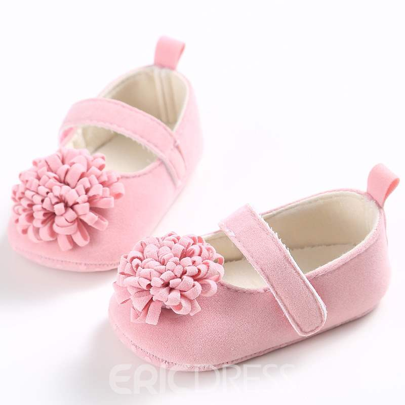 Ericdress Floral Velcro Toddler Shoes