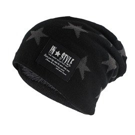 Ericdress Cashmere Winter Star Hat