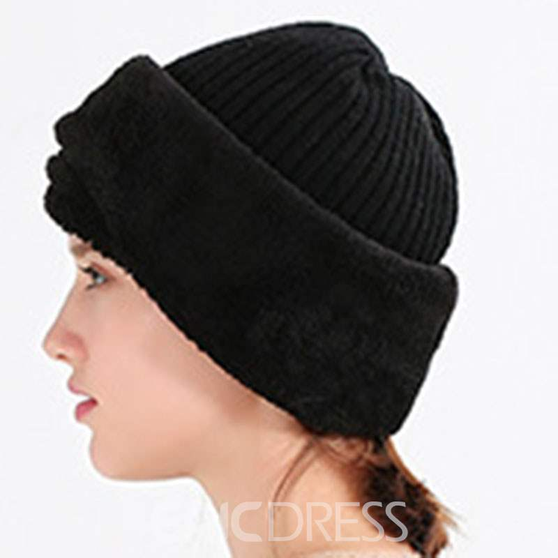 Ericdress Knitted Spring Hat