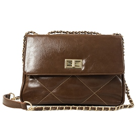Ericdress PU Chain Rectangle Crossbody Bags