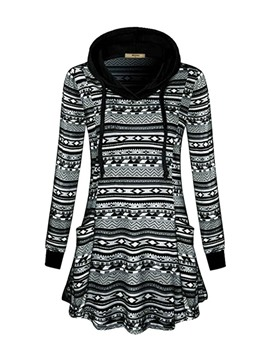 Ericdress Plaid Regular Thin Long Sleeve Hoodie
