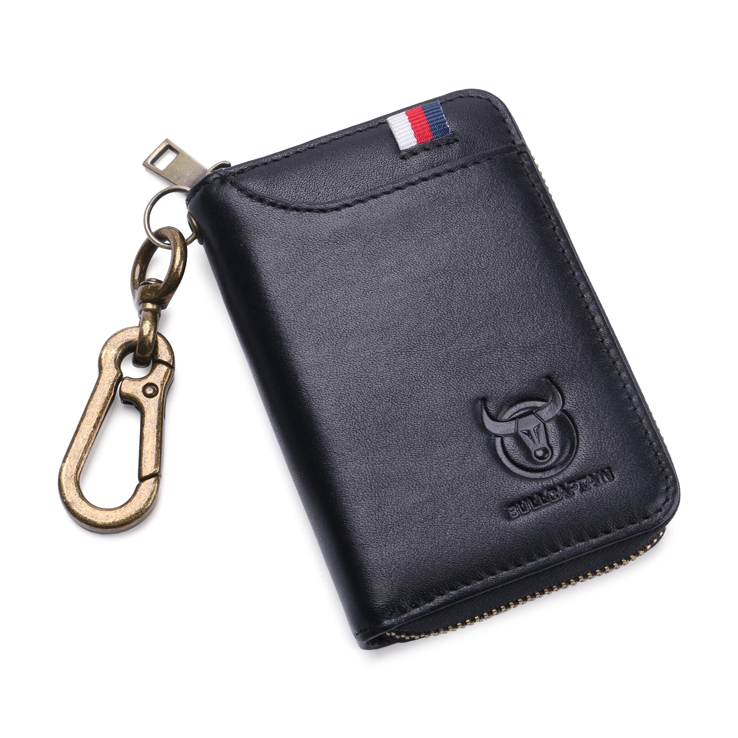 Ericdress Plain European Leather Rectangle Key Holders