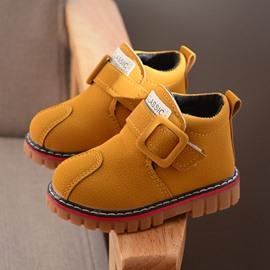 Ericdress Thread Plain Spring Ankle Baby Boots