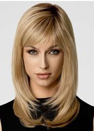 Ericdress Stylish Bob Top Quality Natural Straight Medium Synthetic Hair Capless Wigs 14 Inches