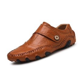 Ericdress PU Round Toe Velcro Men's Casual Shoes