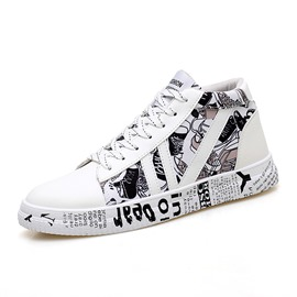 Ericdress Patchwork Round Toe Men's Skate Shoes