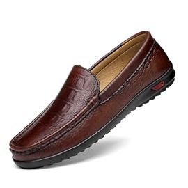 Ericdress Plain Round Toe Slip-On Men's Dress Shoes
