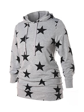 Ericdress Star Regular Print Spring Hooded Hoodie