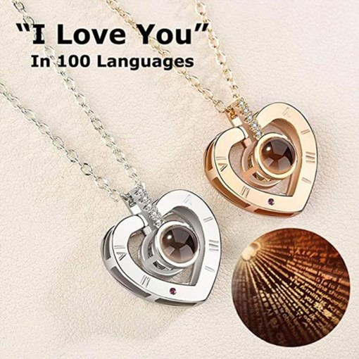 Ericdress Loving You Pendant Necklace
