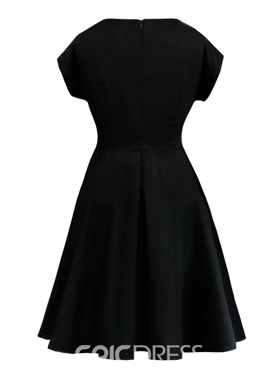 Ericdress A-Line Cap Sleeves Knee-Length Sweetheart Cocktail Dress