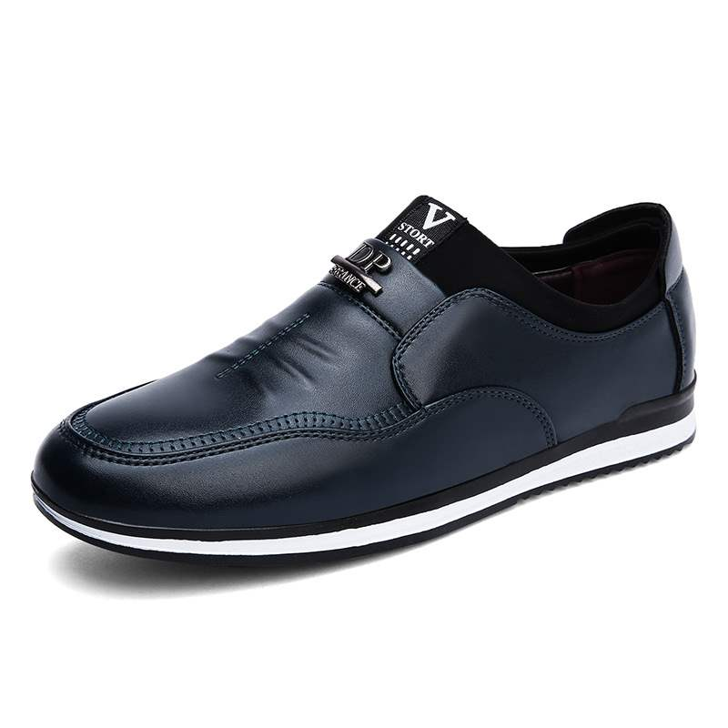 Ericdress Patchwork Round Toe Slip-On Men's Casual Shoes