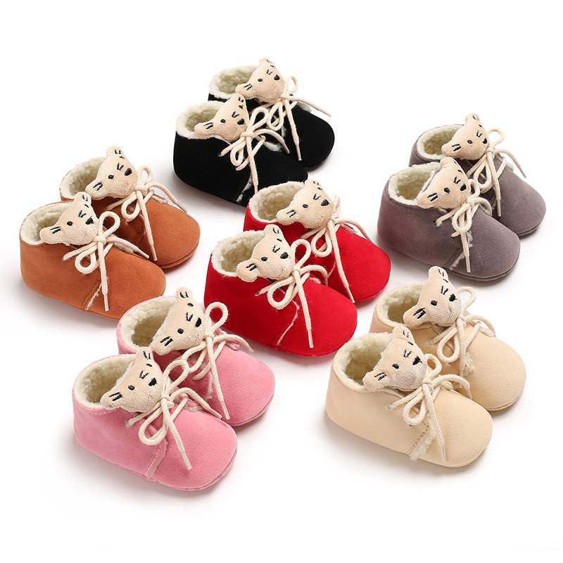 Ericdress Cotton Lace-Up Toddler Shoes
