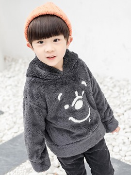 Ericdress Cartoon Fluffy Boy's Hoodie