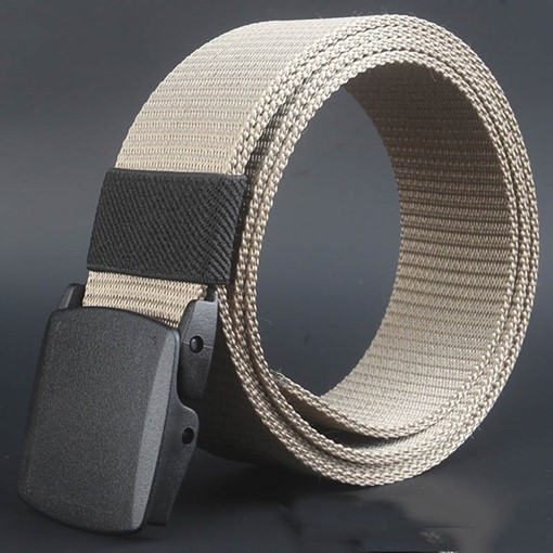 Ericdress Smooth Casual Canvas Belt
