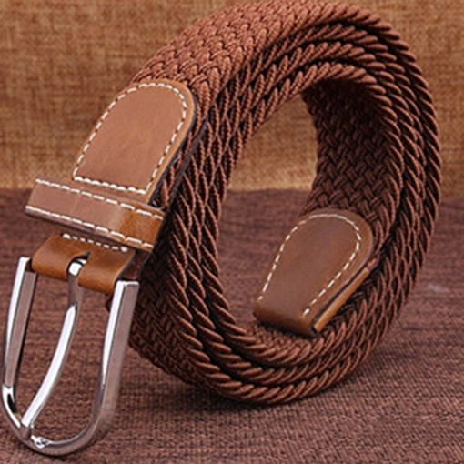 Ericdress Pin Buckle Casual Canvas Belt