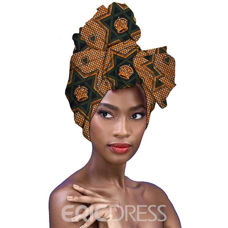 Ericdress Ethnic Cotton African Printed Pattern Scarf