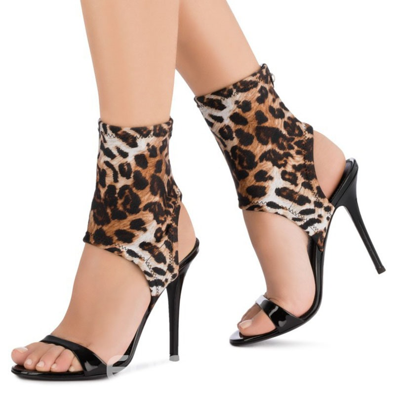 Ericdress Slip-On Stiletto Heel Women's Sandals