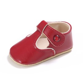 Ericdress Plain Buckle Toddler Shoes
