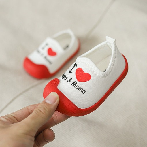 Ericdress Cloth Slip-On Toddler Shoes