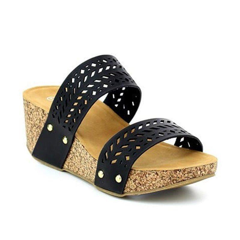 Ericdress Wedge Heel Peep Toe Women's Sandals