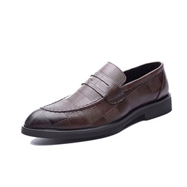 Ericdress PU Round Toe Slip-On Men's Shoes