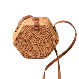 Ericdress Knitted Plain European Crossbody Bags