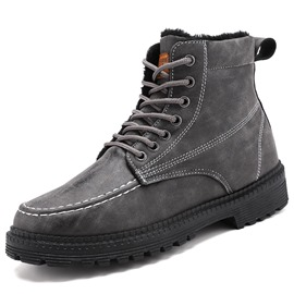 Ericdress PU Lace-Up Front Men's Boots