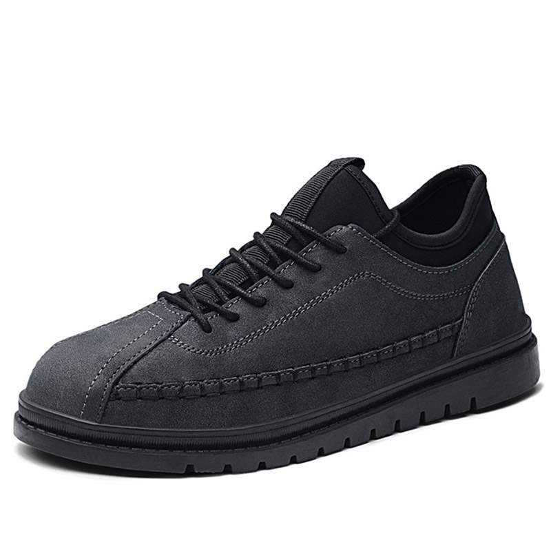 Ericdress Patchwork Round Toe Lace-Up Men's Casual Shoes