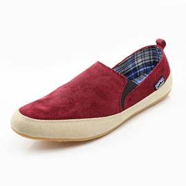 Ericdress Canvas Plain Slip-On Men's Casual Shoes