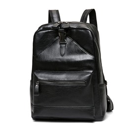 Ericdress Casual PU Thread Plain Men's Backpacks