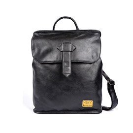 Ericdress PU Plain Thread Men's Backpacks