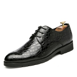 Ericdress Plain Round Toe Men's Dress Shoes