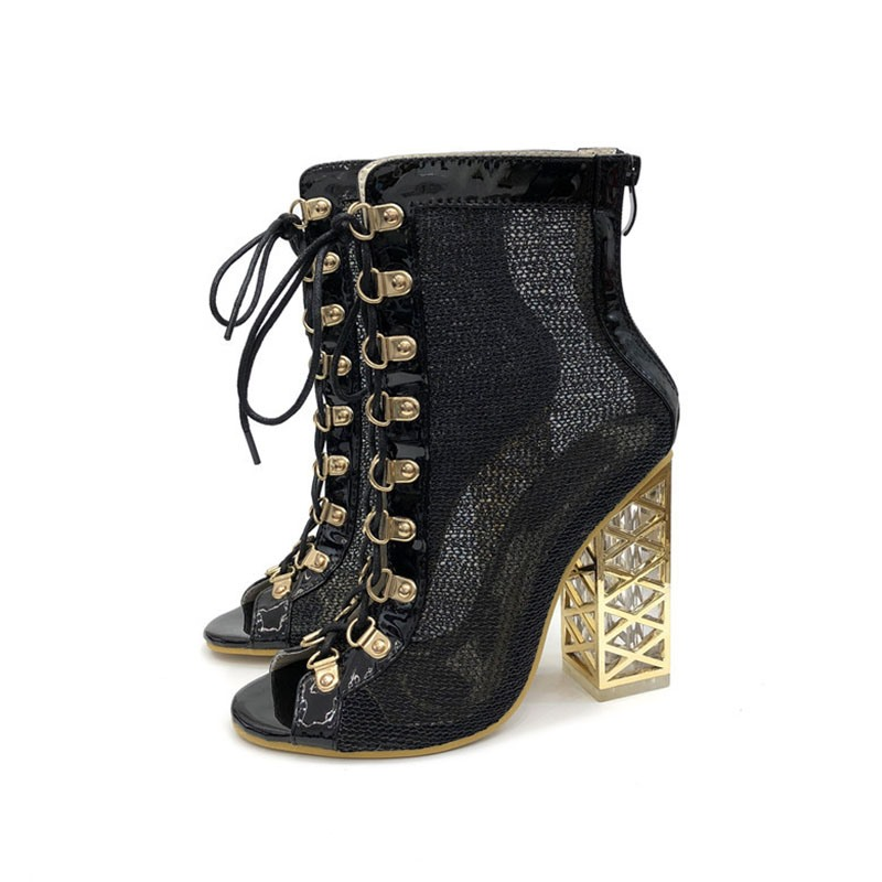 Ericdress_Back_Zip_Peep_Toe_Patchwork_Cross_Strap_Womens_Ankle_Boots