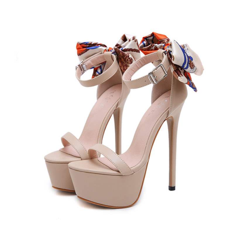 Ericdress Heel Covering Line-Style Buckle Platform Women's Sandals