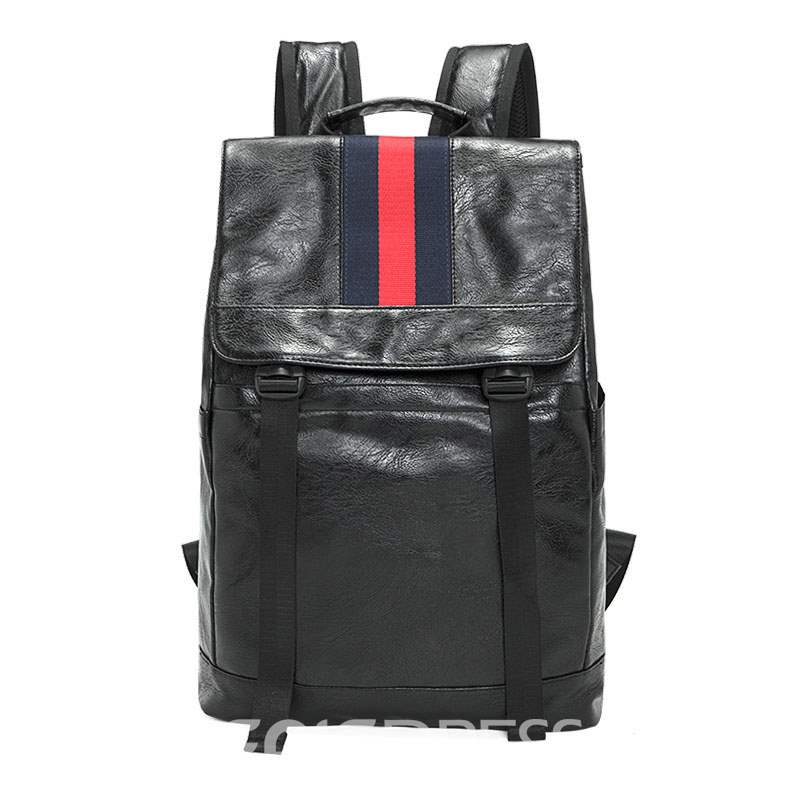 Ericdress PU Plain Patchwork Men's Backpacks