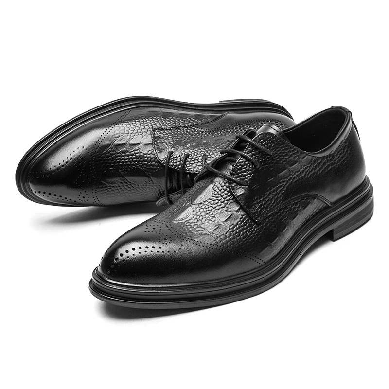 Ericdress Plain Lace-Up Men's Shoes