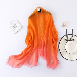 Ericdress Charmeuse Living Coral Scarf