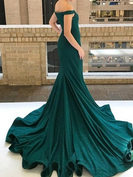 Ericdress Off-The-Shoulder Mermaid Evening Dress