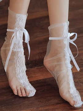 Ericdress Plain See-Through Sock Lace Bodystockings