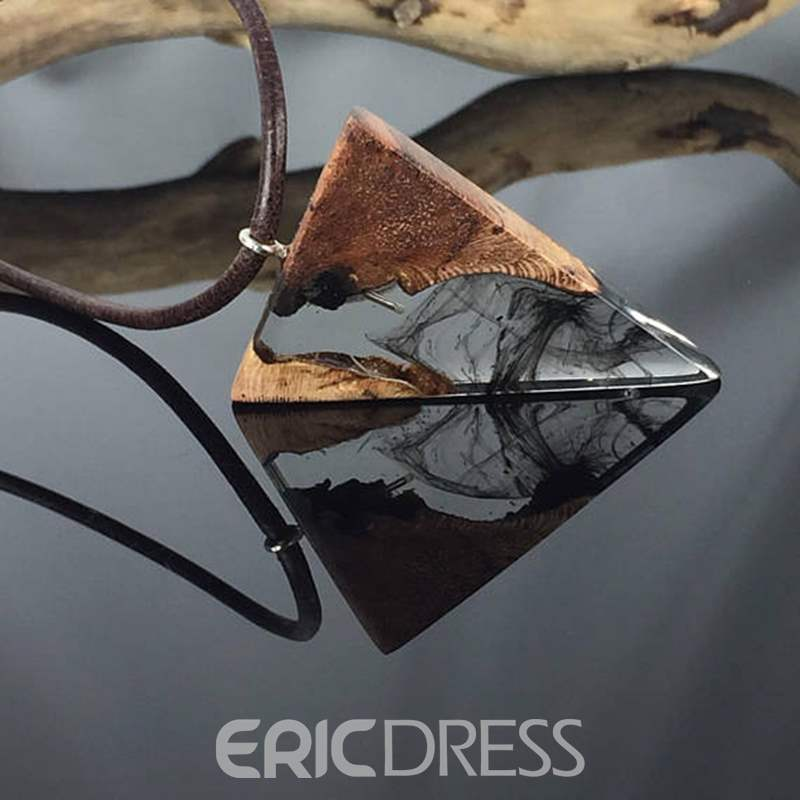 Ericdress Vintage Ink Pendant Necklace