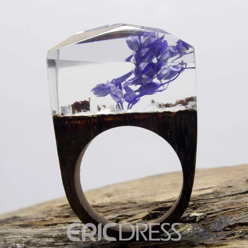 Ericdress Handmade Wooden Ink Ring