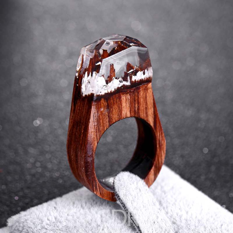 Ericdress Wooden Magic Forest Ring