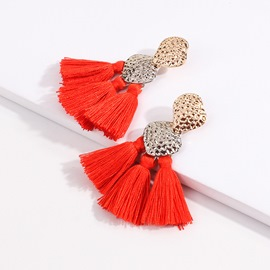 Ericdress Orange Party Earrings