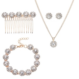 Earrings Diamante European Jewelry Sets (Wedding )